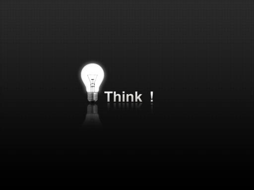 THINK ! background